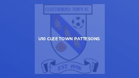 U10 Clee Town Pattesons