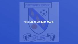 U16 Clee Town East Trans