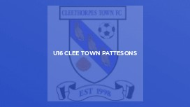 U16 Clee Town Pattesons
