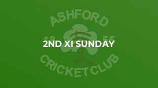 2nd XI Sunday
