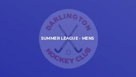 Summer League - Mens