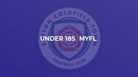Under 18s  MYFL