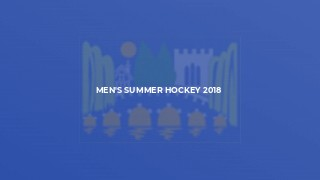Men's Summer Hockey 2018