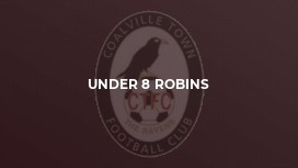 Under 8 Robins