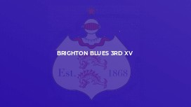 Brighton Blues 3rd XV
