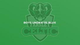 Boys Under 11s Blue