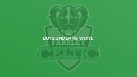 Boys Under 11s White