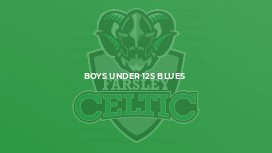 Boys Under 12s Blues