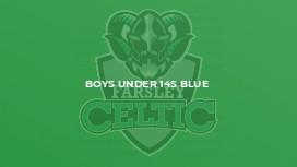 Boys Under 14s Blue