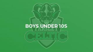 Boys Under 10s