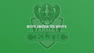 Boys Under 12s White
