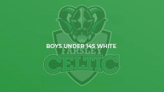 Boys Under 14s White