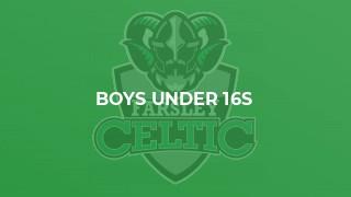 Boys Under 16s