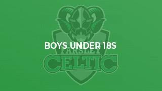 Boys Under 18s