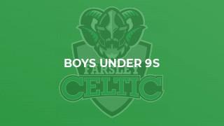 Boys Under 9s