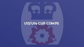 U13/U14 Cup Comps