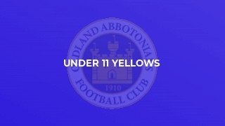Under 11 Yellows