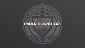 Under 11 Panthers