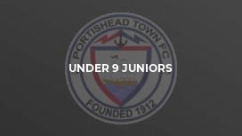 Under 9 Juniors