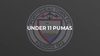 Under 11 Pumas