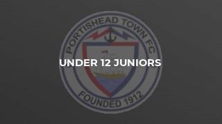 Under 12 Juniors