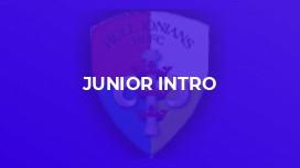 Junior Intro