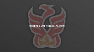 Phoenix U19 Regional 2019