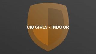 U18 Girls - Indoor