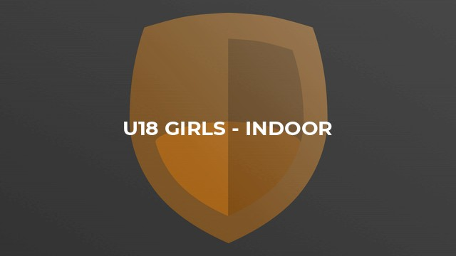 U18 Girls - Indoor