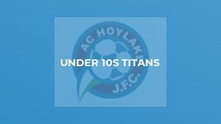 Under 10s Titans