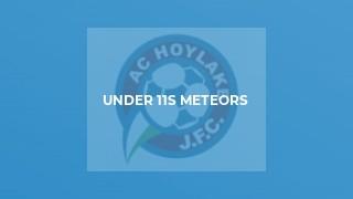 Under 11s Meteors
