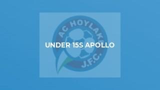 Under 15s Apollo