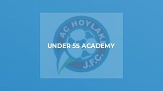 Under 5s Academy