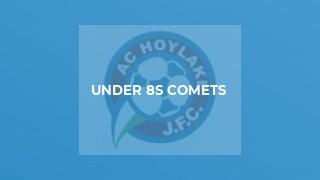 Under 8s Comets