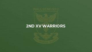 2nd XV Warriors