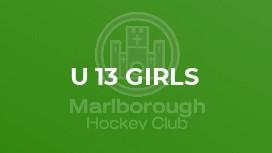U 13 Girls
