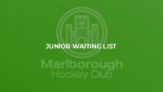 Junior Waiting list
