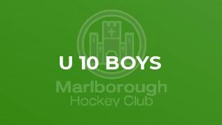 U 10 Boys