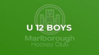 U 12 Boys