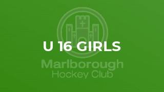 U 16 Girls