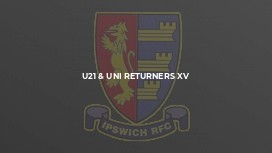 U21 & UNI RETURNERS XV