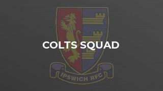 Colts Squad