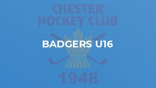 Badgers U16