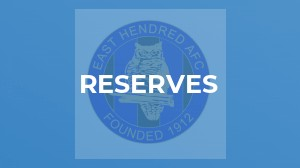 Reserves v Ardington Reserves