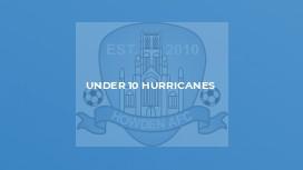 Under 10 Hurricanes