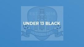 Under 13 Black