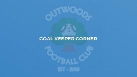 Goal Keeper Corner