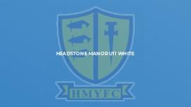 Headstone Manor U11 White