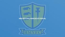 Headstone Manor U13 Royal