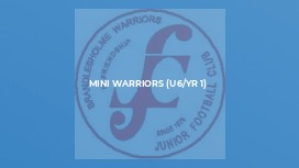 Mini Warriors (U6/Yr 1)